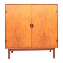 Midcentury Cabinet in Solid Teak Designed by Hvidt & Mølgaard, 1950s