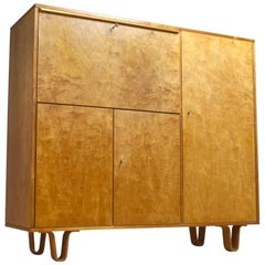 Midcentury Cabinet in Yellow Birch by Cees Braakman for Pastoe, CB01, 1951
