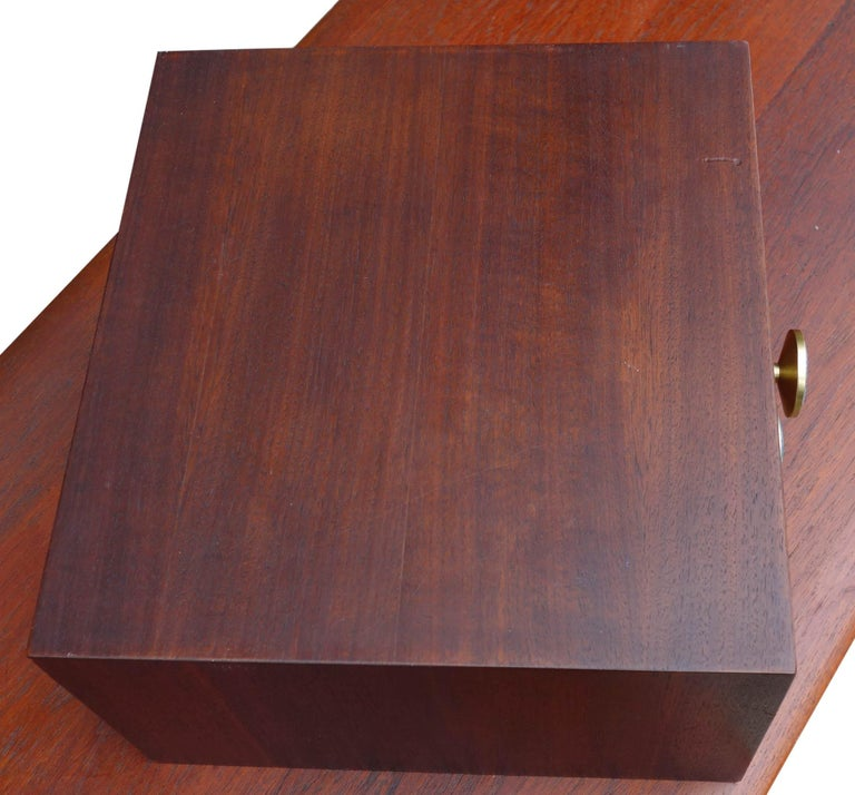 Midcentury Cabinet Top Set of Drawers For Sale 3