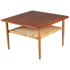 Midcentury Coffee Table by Kurt Østervig for Jason Møbler, Danmark