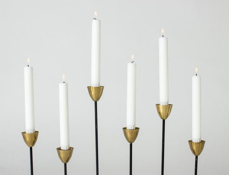 Midcentury Candlestick by Gunnar Ander In Good Condition For Sale In Stockholm, SE