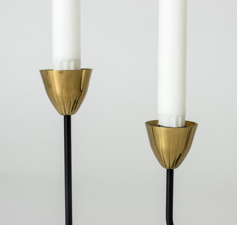 Midcentury Candlestick by Gunnar Ander For Sale 1