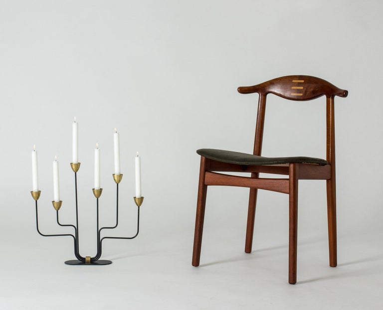 Midcentury Candlestick by Gunnar Ander For Sale 2