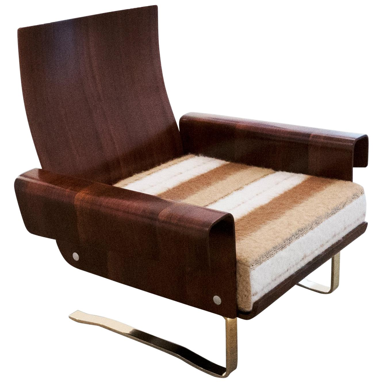 Midcentury Cantilever Lounge Chair