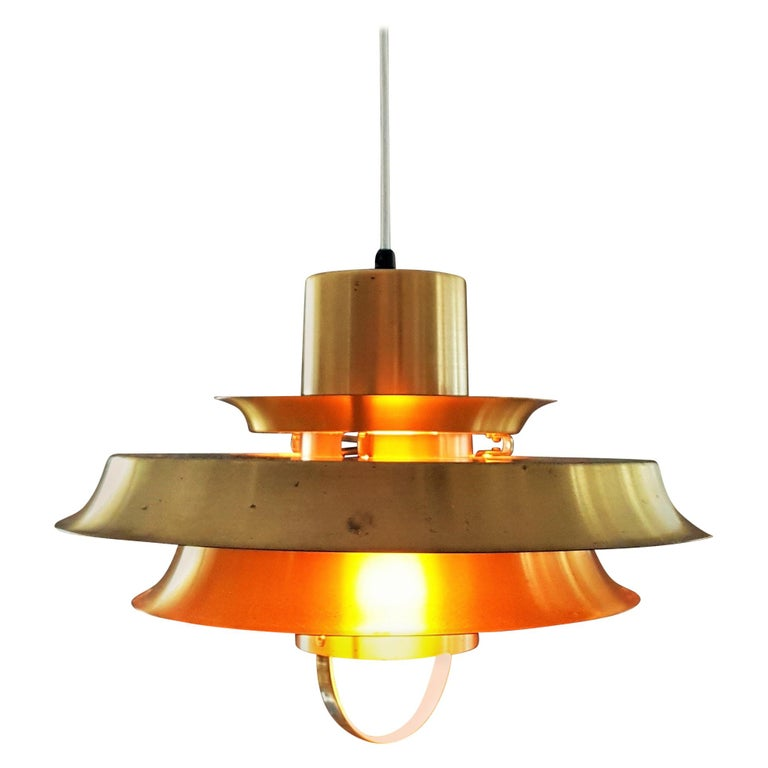Midcentury Carl Thore Pendant Chandelier Danish Modern For Sale