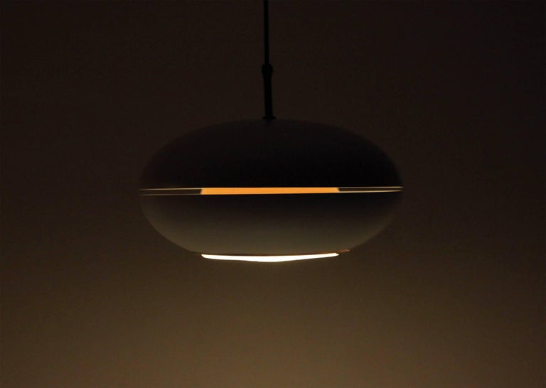 Midcentury Ceiling Light by Birger Dahl for Sønnico, 1960s In Excellent Condition For Sale In Oslo, NO