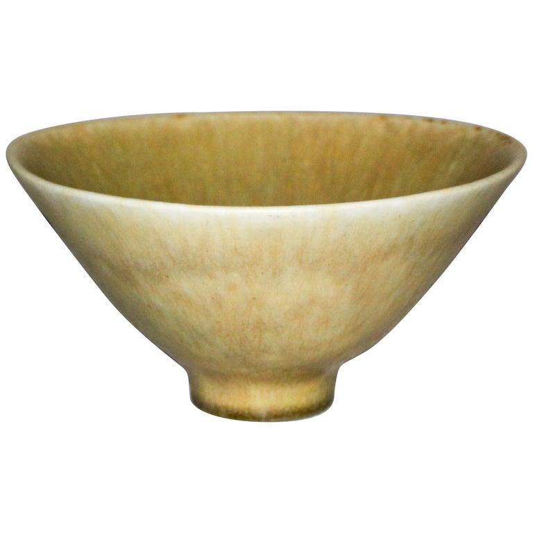 Midcentury Ceramic Bowl by Carl-Harry Stålhane for Rörstrand For Sale