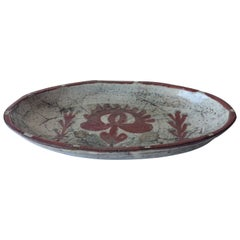 Midcentury Ceramic Bowl by Gustave Reynaud, in the Manner of Jean Derval