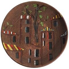 Jahrhundertmitte Keramikschüssel, Italien