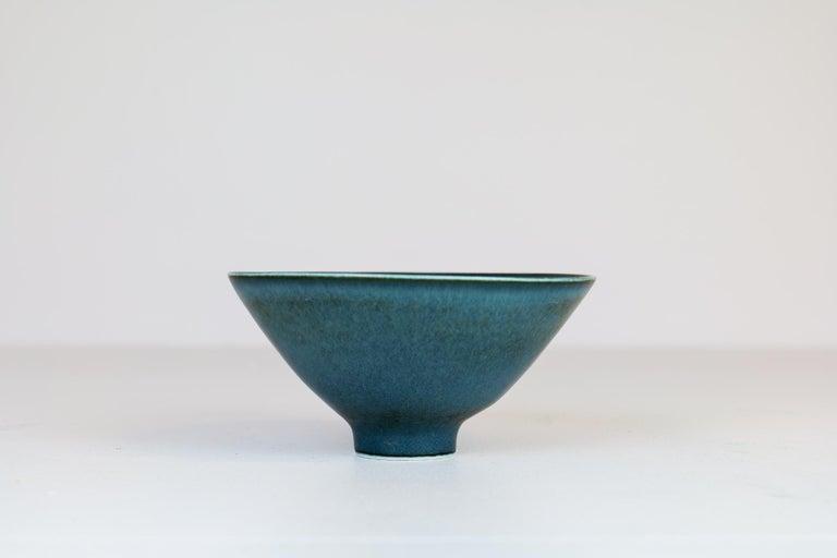 Mid-Century Modern Midcentury Ceramic Bowl Rörstrand Carl Harry Stålhane, Sweden, 1950s For Sale