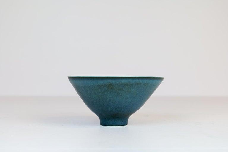 Swedish Midcentury Ceramic Bowl Rörstrand Carl Harry Stålhane, Sweden, 1950s For Sale