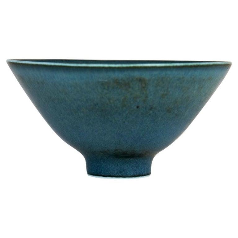 Midcentury Ceramic Bowl Rörstrand Carl Harry Stålhane, Sweden, 1950s For Sale