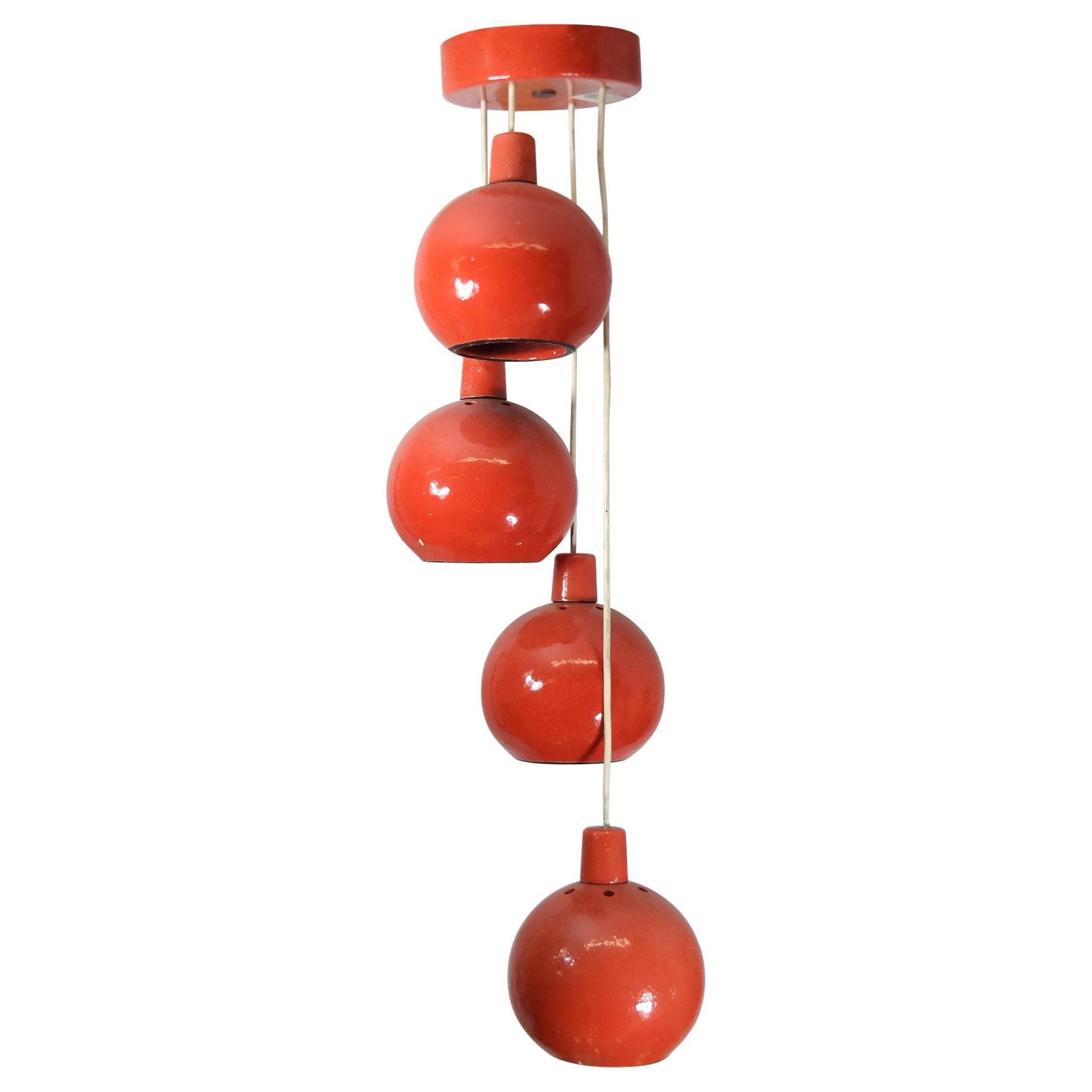 Midcentury Ceramic Ceiling Lamp