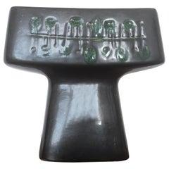 Midcentury Ceramic Design Candlestick by Jitka Forejtova, 1960s