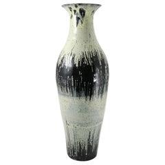 Midcentury Ceramic Floor Vase 20e