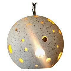 Midcentury Ceramic Pendant Light