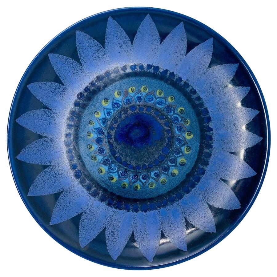 Midcentury Ceramic Platter by Hilkka-Liisa Ahola for Arabia