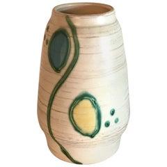 Midcentury Keramikvase Vintage, Töpferkunst