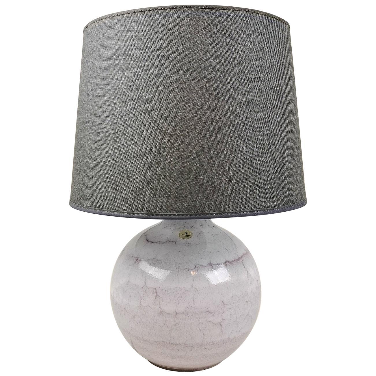 Midcentury Ceramic Table Lamp Carl-Harry Stålhane, Sweden