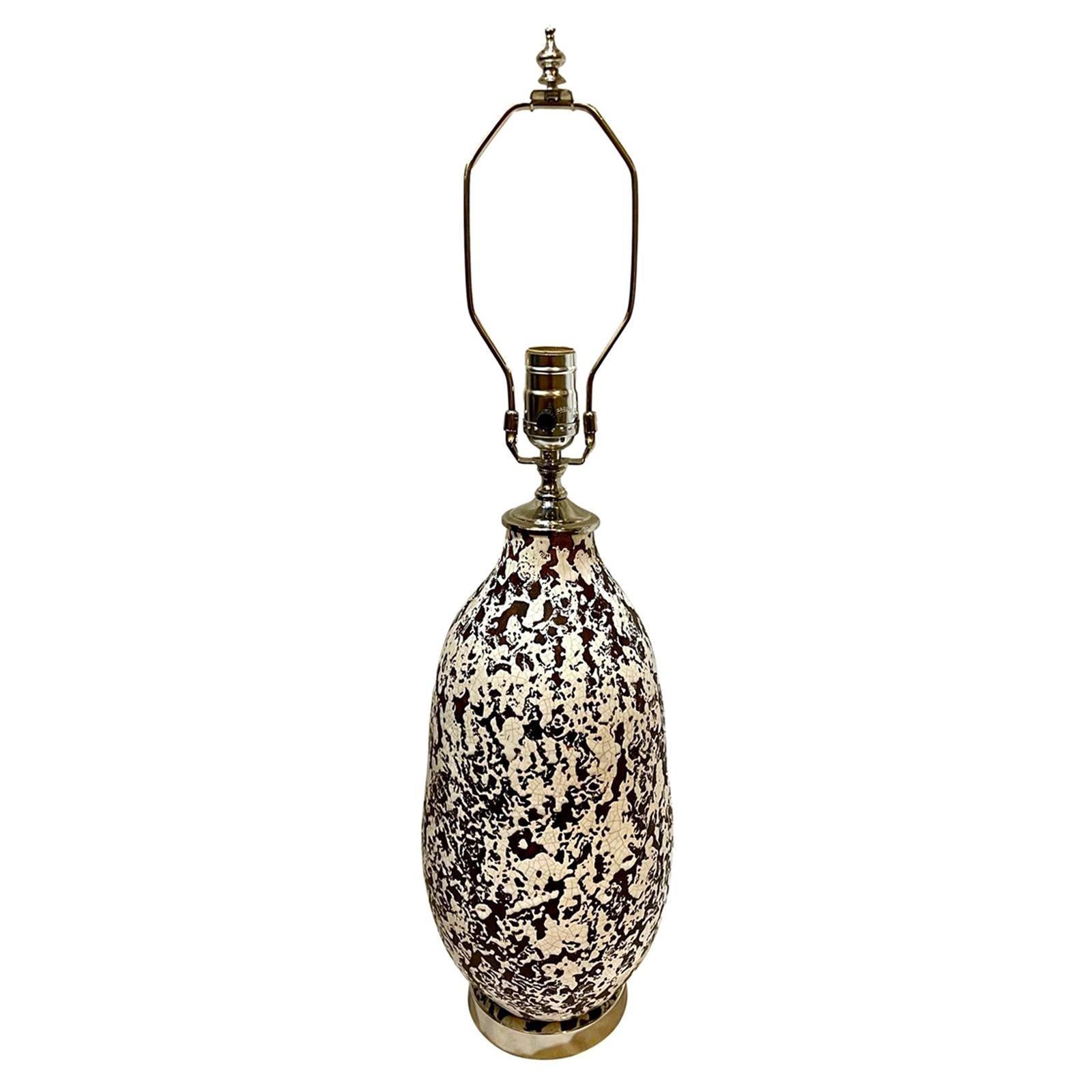Midcentury Ceramic Table Lamp