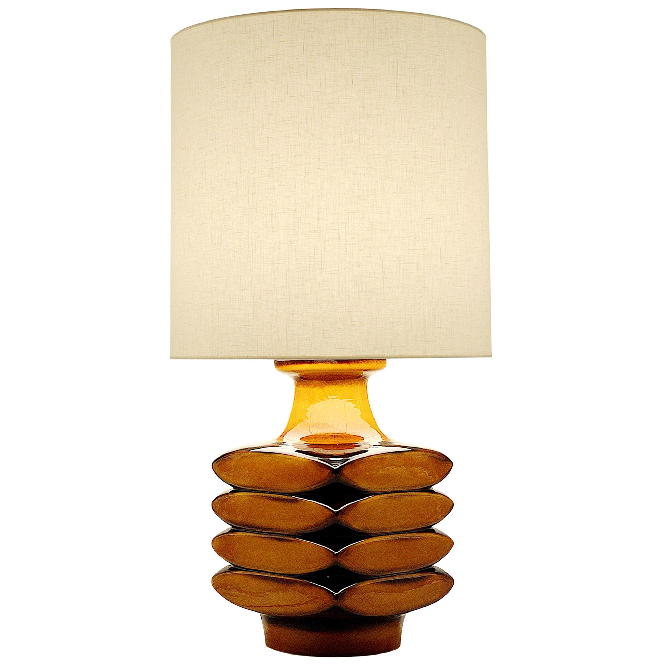 Midcentury Ceramic Table or Floor Lamp, 1960s