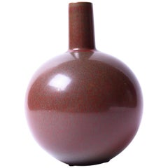 Midcentury Ceramic Vase by Eje Öberg for Studio Gustavsberg, 1956