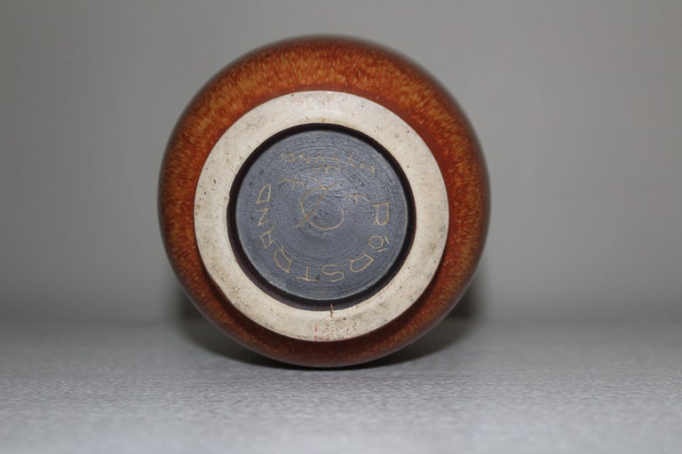 Mid-20th Century Midcentury Ceramic Vase by Gunnar Nylund for Rörstrand For Sale