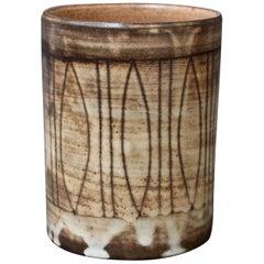 Midcentury Ceramic Vase by Jacques Pouchain, Atelier Dieulefit, circa 1960s