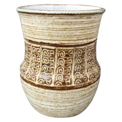 Midcentury Ceramic Vase by Marcel Giraud, circa 1960s