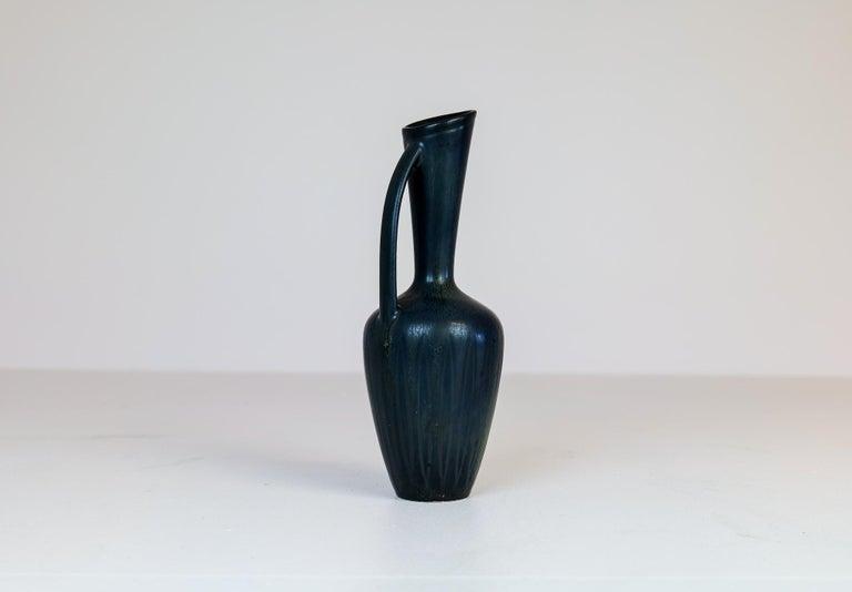 Midcentury Ceramic Vase Gunnar Nylund Rörstrand, Sweden 1950s In Good Condition In Langserud, SE