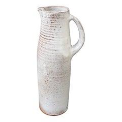 Midcentury Ceramic Vase / Jug by Jeanne & Norbert Pierlot, circa 1960s