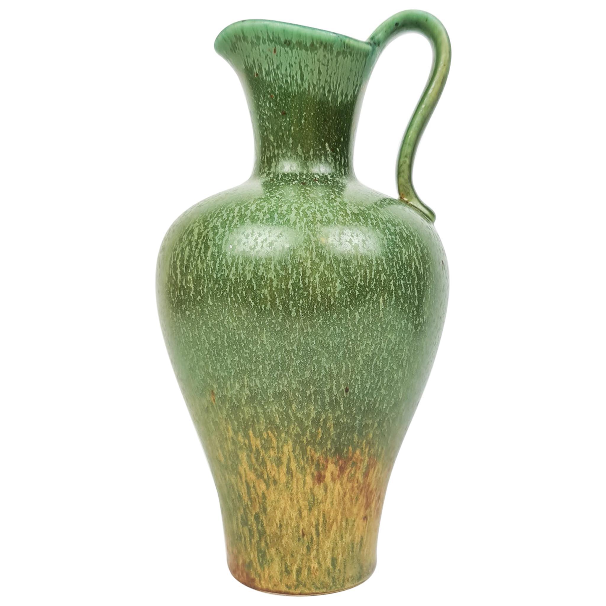 Midcentury Ceramic Vase Rörstrand Gunnar Nylund, Sweden