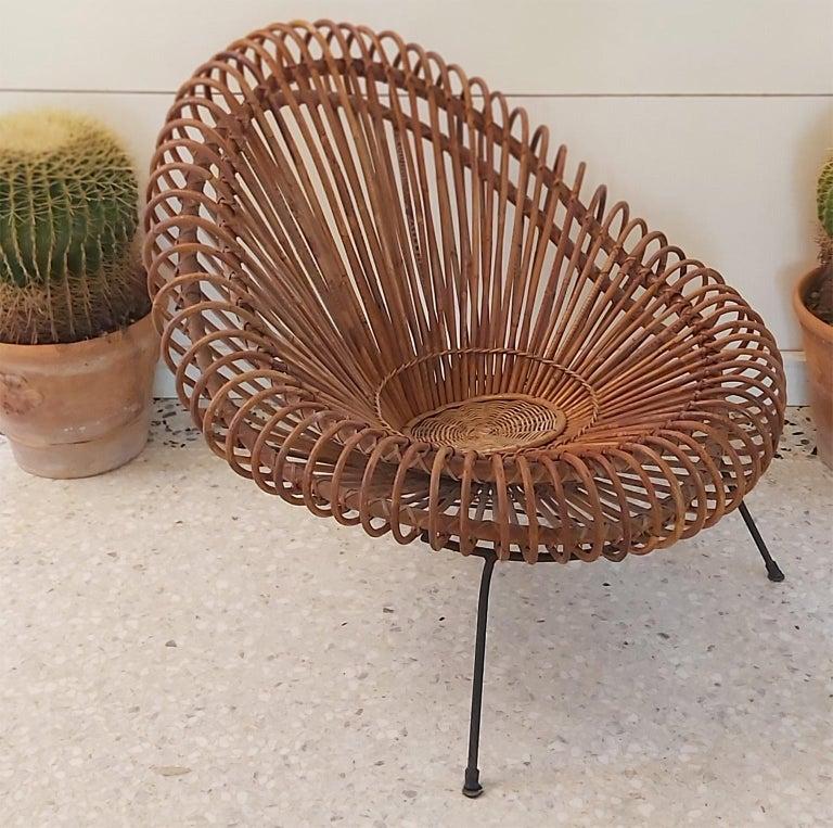 Mid-Century Modern Midcentury Chair by Janine Abraham & Dirk Jane Rol, Rougier Edition, 1950s