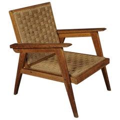 Mitte des Jahrhunderts Stuhl aus Frankreich, circa 1970