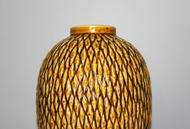 Swedish Midcentury Chamotte Vase by Gunnar Nylund for Rörstrand For Sale