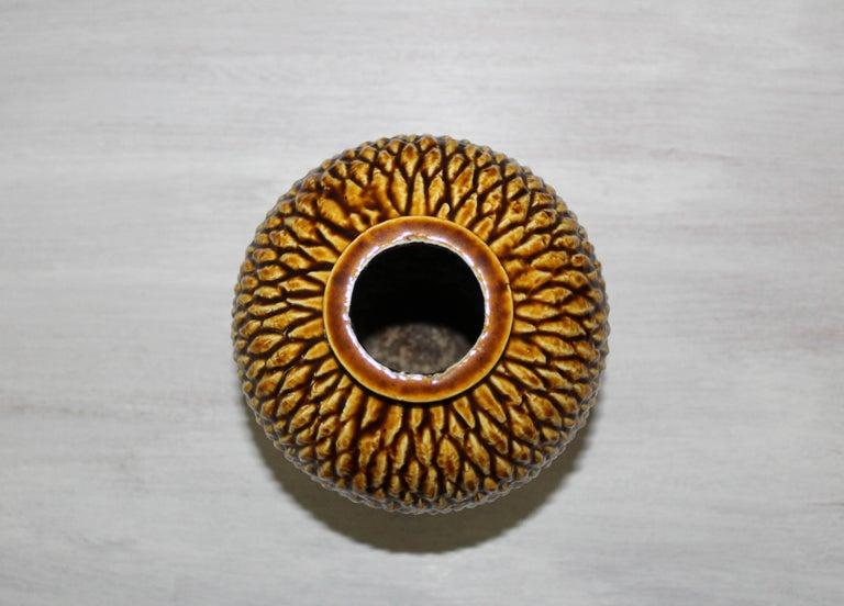 Ceramic Midcentury Chamotte Vase by Gunnar Nylund for Rörstrand For Sale