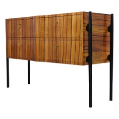 Midcentury Cherrywood Chests of Drawer, 1950