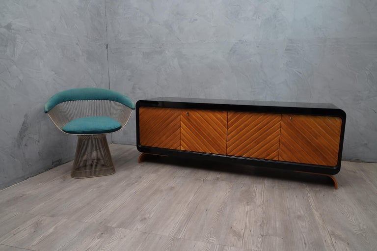 Mid-Century Modern Midcentury Cherrywood Italian Sideboards, 1950 For Sale
