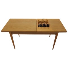 Midcentury Chess Table Made in Czechoslovakia