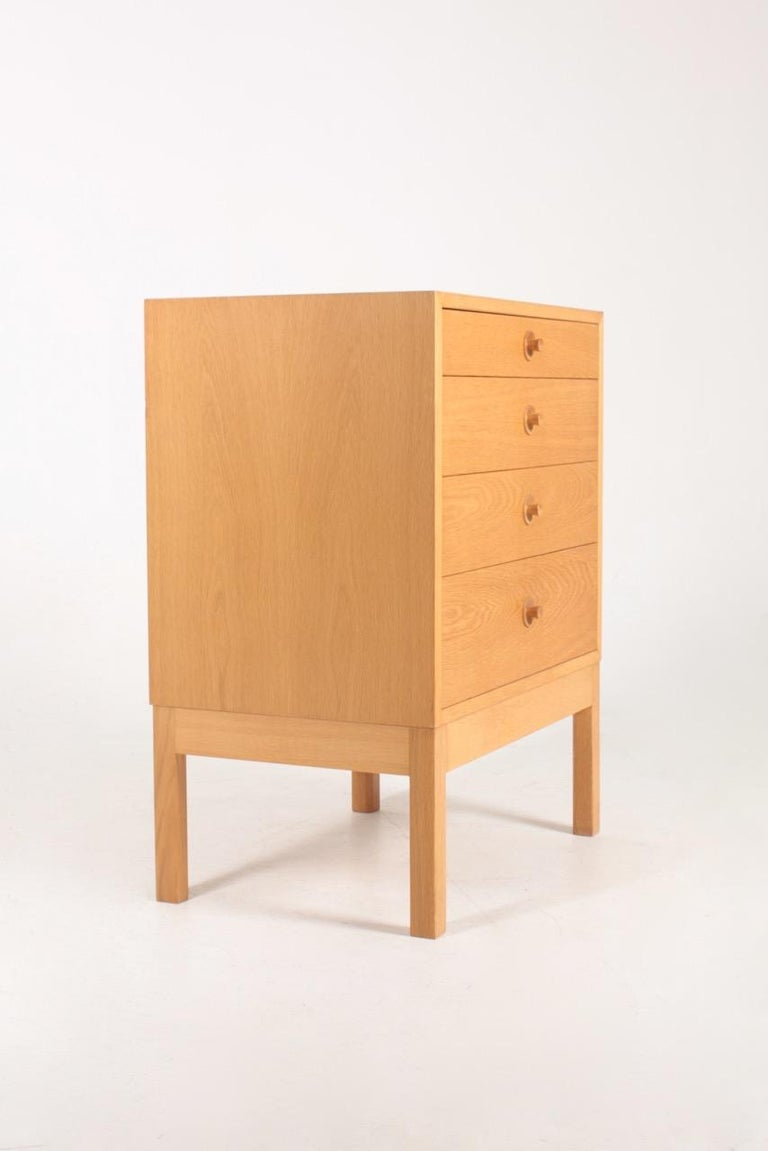 Mid-20th Century Midcentury Chest of Drawers in Oak Designed by Børge Mogensen, 1960s For Sale