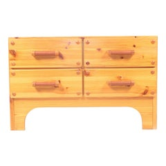 Midcentury Chest of Drawers in Solid Pine, Danish Design, 1970s