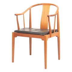 "Midcentury ""China"" Chair in Mahogany by Hans J. Wegner, 1960s"