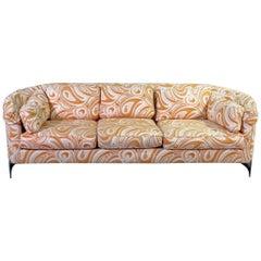 Midcentury Chrome Frame Sofa