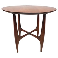 Midcentury Circular Table