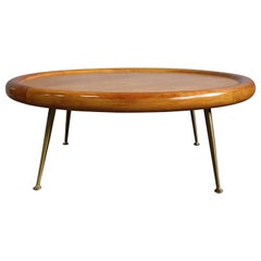 Midcentury Cocktail Table, by T.H. Robsjohn-Gibbings for Widdicomb
