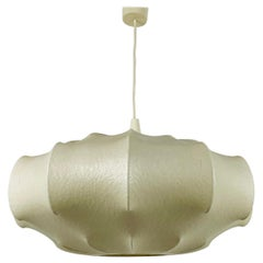 Midcentury Cocoon Pendant Light, 1960s, Italy