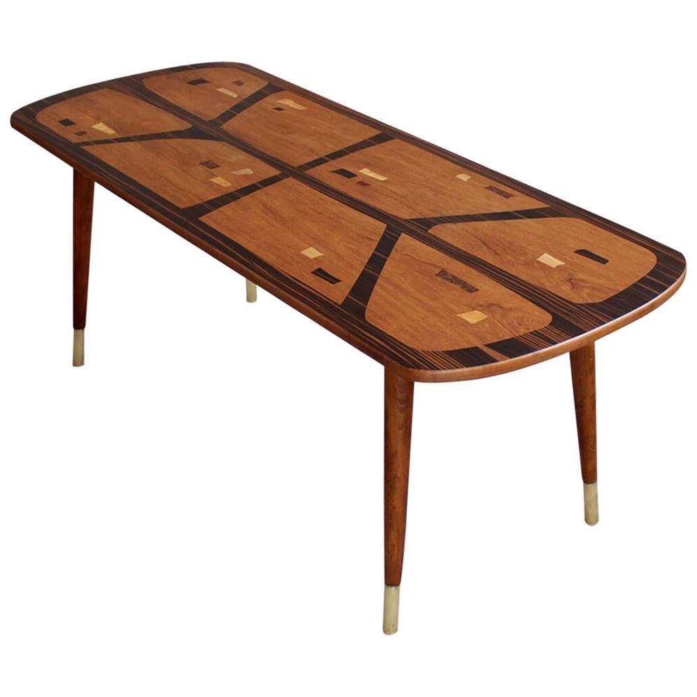 Midcentury Coffee Table, 1960s