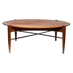 Midcentury Coffee Table by DUX in Walnut