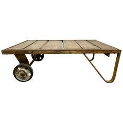 Midcentury Coffee Table Cart, 1950s