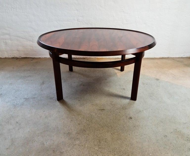 Mid-Century Modern Midcentury Coffee Table Rosewood